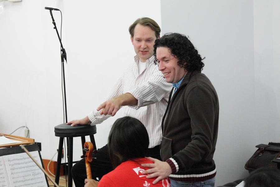 Gustavo and Bruce